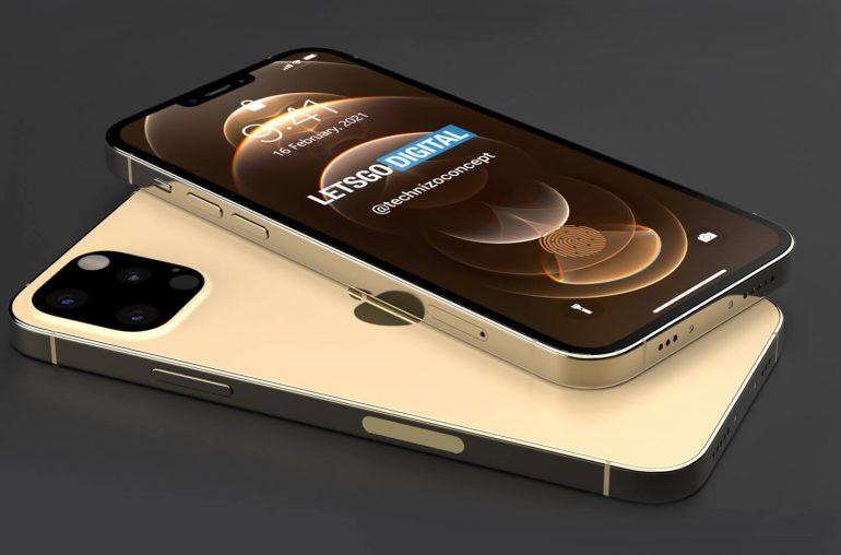 Опубликован концепт смартфона iPhone 13 Pro