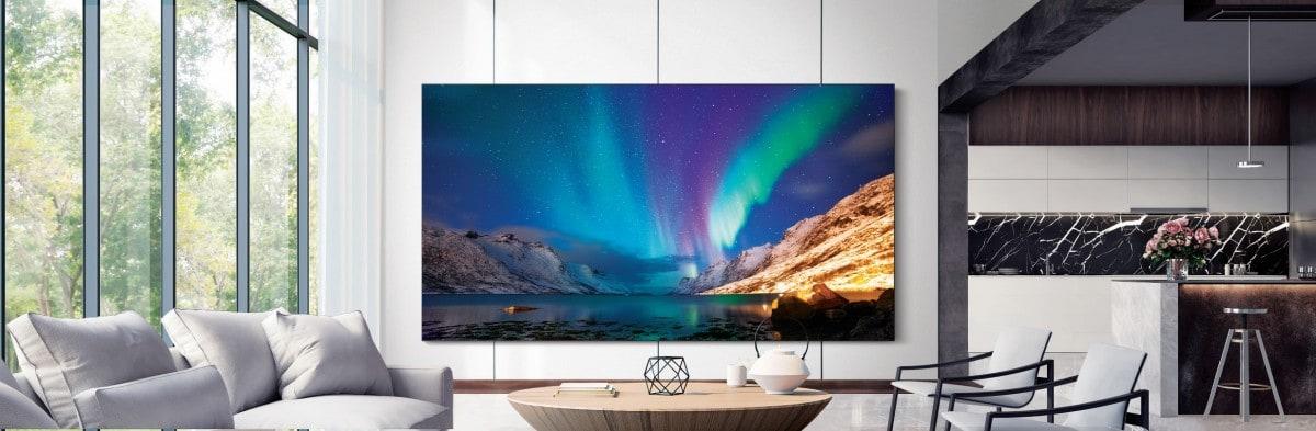 Samsung представила новую линейку телевизоров 2021 года