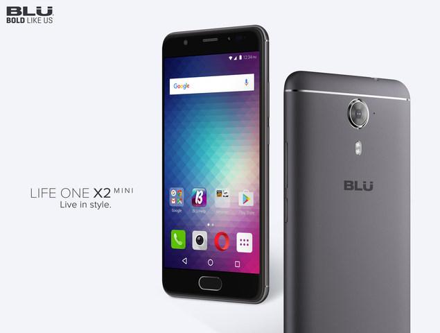 BLU представила бюджетный смартфон Life One X2 Мини