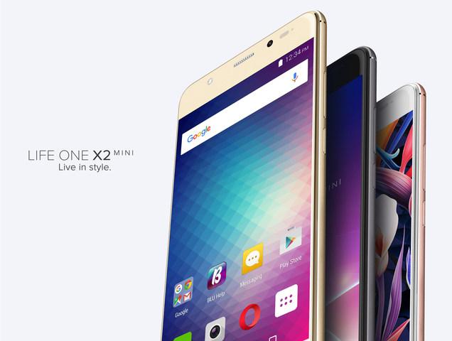 BLU представила дешевый  смартфон Life One X2 Мини