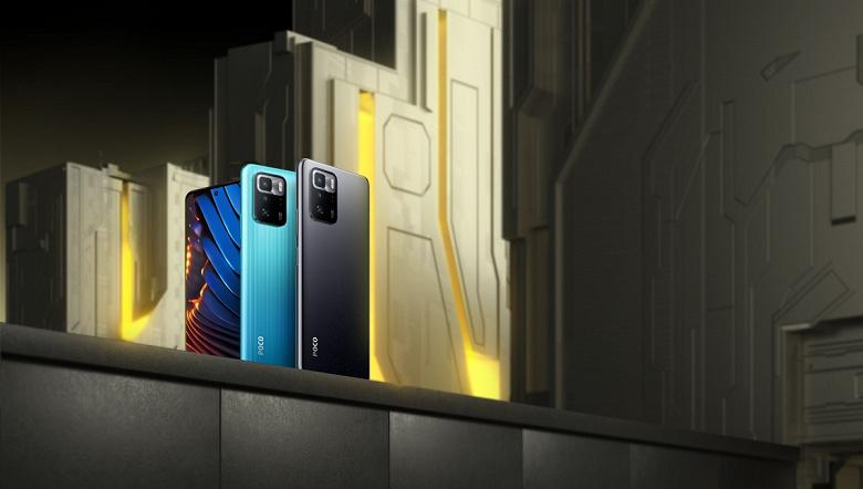 Представлен смартфон Poco X3 GT  клон Redmi Note 10 Pro 5G
