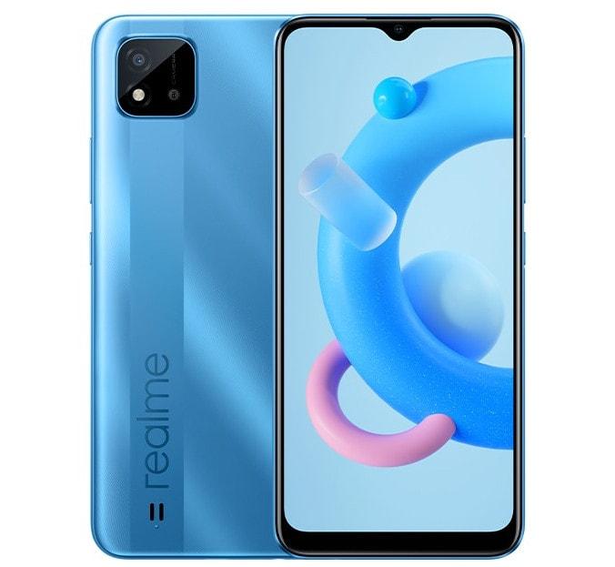 Представлен бюджетный смартфон Realme C20 с аккумулятором емкостью 5000 мАч