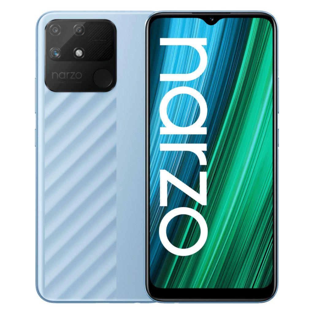 Представлен бюджетный смартфон Realme narzo 50A с батареей на 6000 мАч