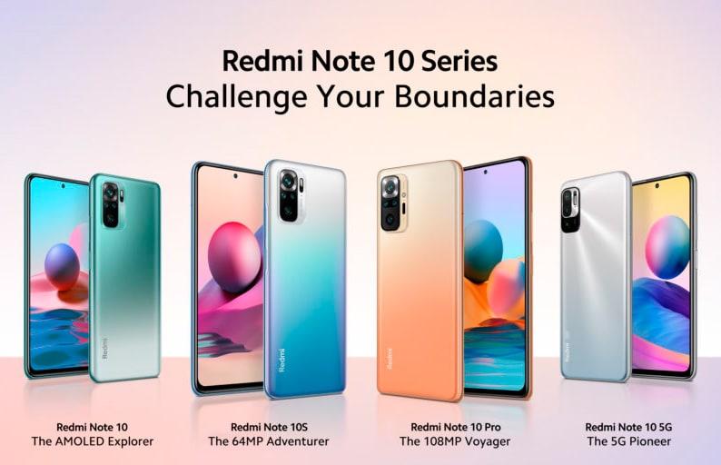 Xiaomi представила смартфоны Redmi Note 10 Pro, Redmi Note 10, Redmi Note 10S и Redmi Note 10 5G для глобального рынка
