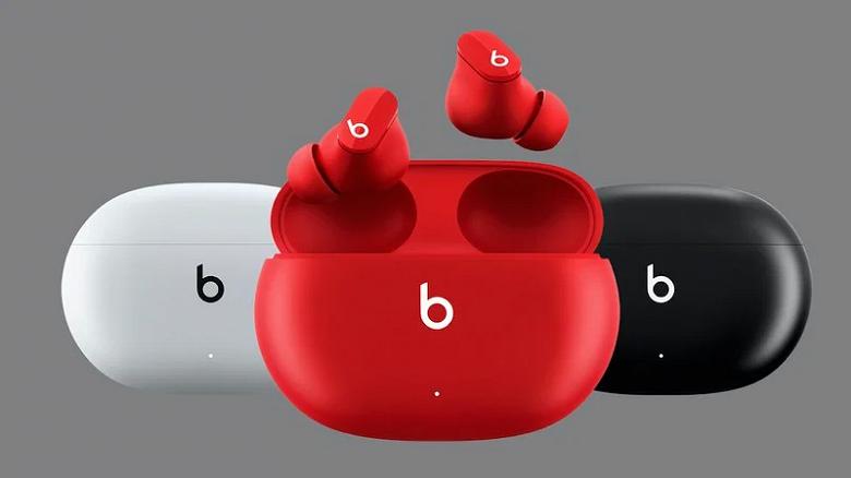 Представлены наушники Apple Beats Studio Buds с активным шумодавом и сутками автономности