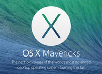 Скачать OS X Mavericks 10.9 Developer Preview 4