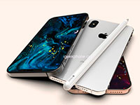 Концепт смартфона iPhone XI в стиле iPhone 5s