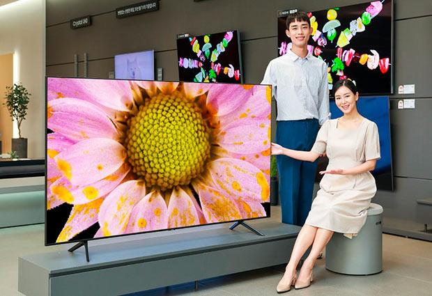 Представлены телевизоры Samsung QT67 QLED с первоклассным рейтингом эн
