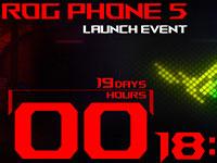 Названа официальная дата выпуска игрового смартфона ASUS ROG Phone 5