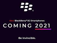 Новый 5G телефон BlackBerry выйдет в Европе, Северной Америке и Азии