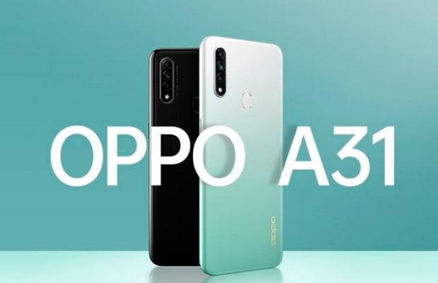 Oppo A31 с 6,5-дюймовым дисплеем и аккумулятором на 4230 мАч представл