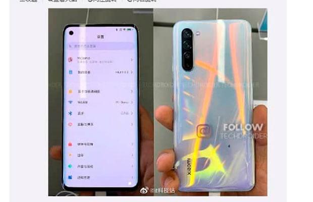Живое фото включенного Xiaomi Mi 10 слито в Сеть