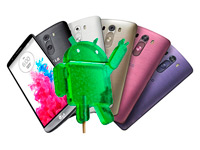 LG обновит свои флагманы до Android 5.0 Lollipop к концу года