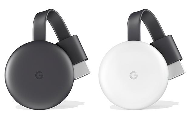 Google выпустила обновленный медиаплеер Chromecast 3.0