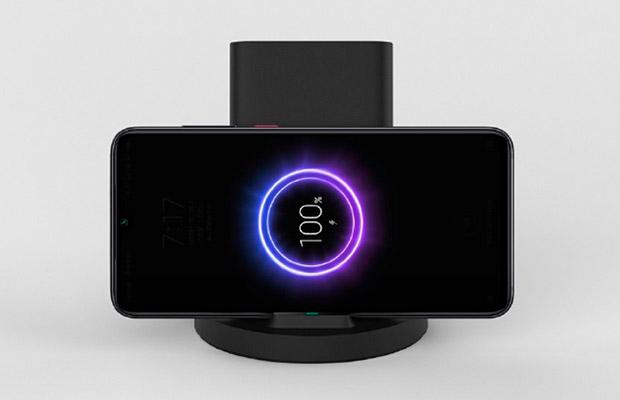 Xiaomi анонсировала вертикальную беспроводную зарядку для смартфонов
