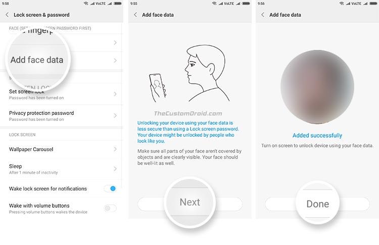 Xiaomi Mi 5 отримав функцію Face Unlock